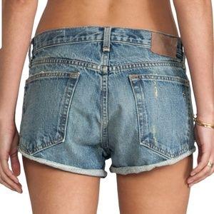 Rag & Bone marilyn denim shorts size 26